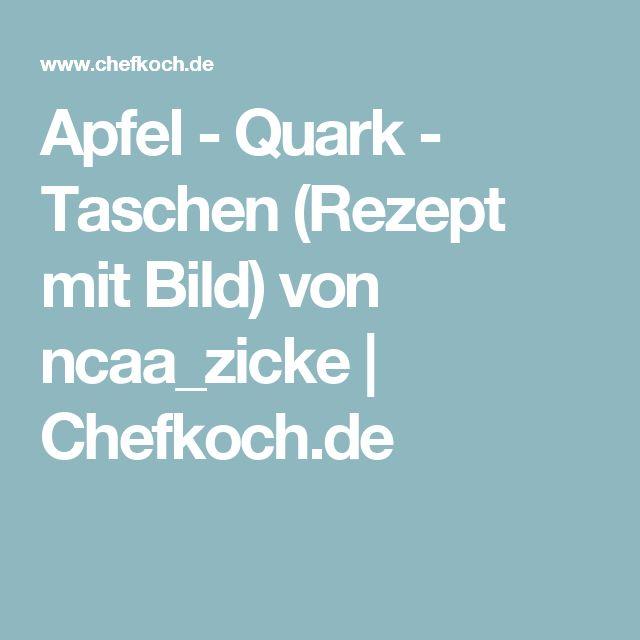 Apfel - Quark - Taschen (Rezept mit Bild) von ncaa_zicke | Chefkoch.de