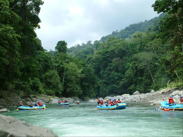 Costa Rica is one of the countries with more rivers per square kilometer than anywhere else in the world. Gear Up for the adventurous rafting in Pacuare river. http://ift.tt/2m5MApb #TimBeta