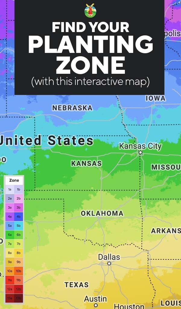 Planting Zones Map | Find Your Gardening Zones with ZIP Code
