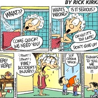 I Absolutely LOVE Baby Blues Comic Strip They Are All Scenes From A Day In