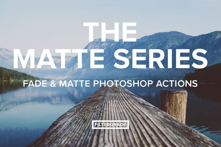 Matte filters and film grades for Photoshop. Great for travel bloggers, photographers, and designers.