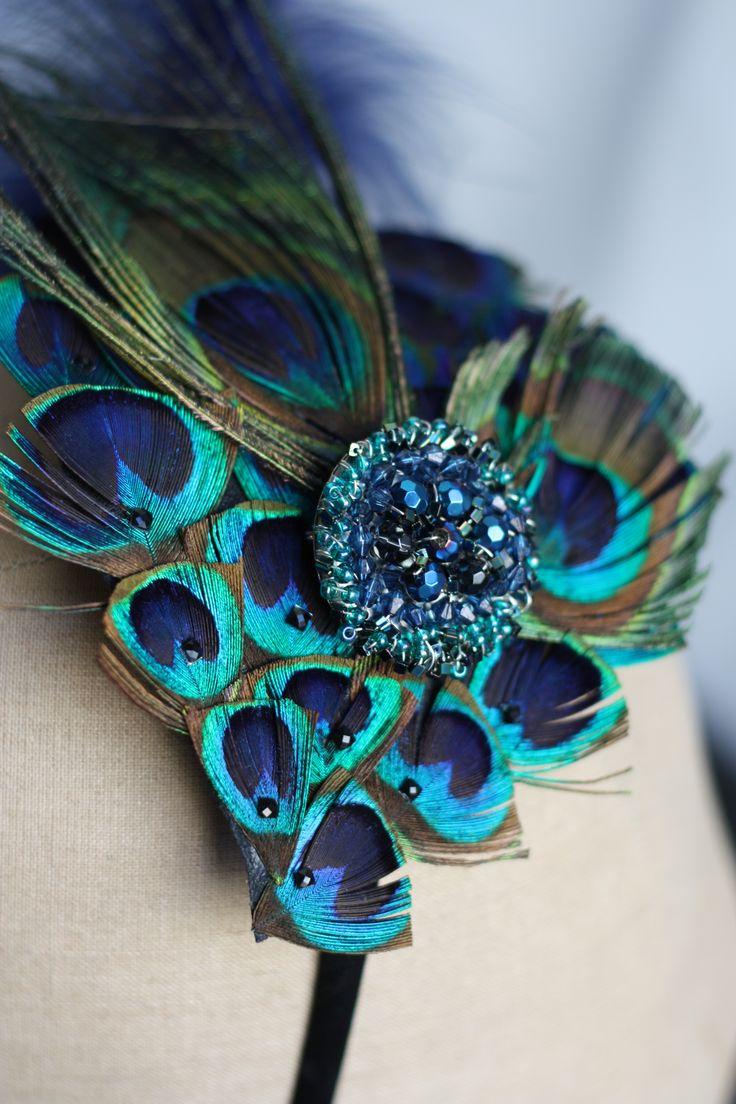 Peacock headdress by Samantha Walden