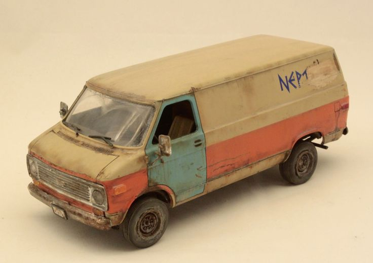 1 24 plastic model car kit weathering by barlas for Pvc car
