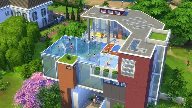 Sims 3 Swimming Pool Designs Sims 4 Houses Sims 4 Sims