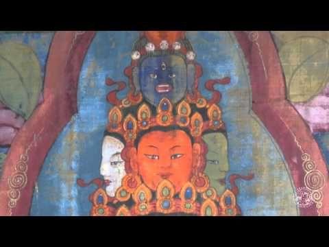 """Este mes de diciembre tenemos como #pieza del mes uno de los #thangkas tibetanos de la #colección Rodríguez-Acosta.  """"La visión cósmica de #Avalokitesvara"""". ¡No te lo pierdas!  Puedes verla en el siguiente enlace --> http://bit.ly/1A6YCwn Más información en --> http://bit.ly/1rLtYZK y http://bit.ly/11Im2w5"""