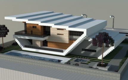 Modern house, creation #6779