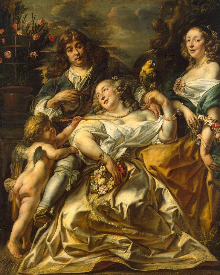 Jacob Jordaens allegorical family portrait