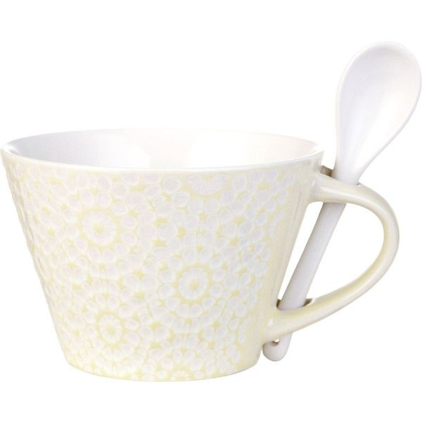 Fabulous Lene Bjerre Abella Cup With Spoon Sorbet liked on Polyvore