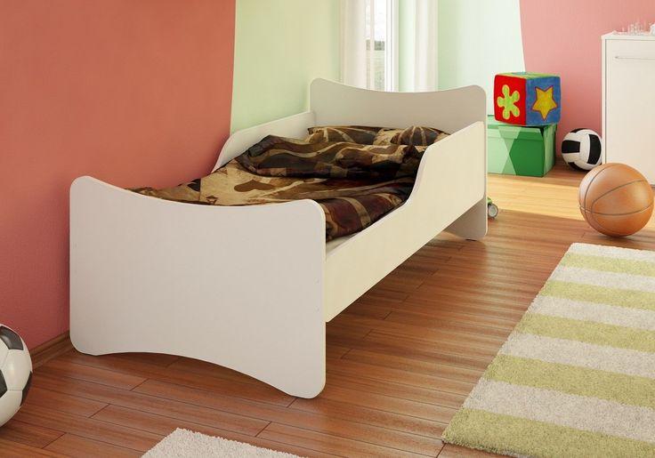 Bfk Brandneu Bett Kinderbett Jugendbett Weiß Matratze