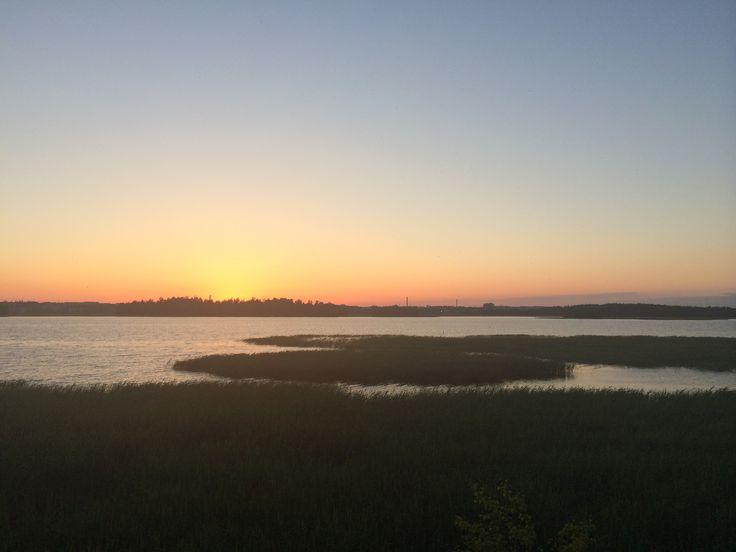 Sunset in Kivinokka, Helsinki
