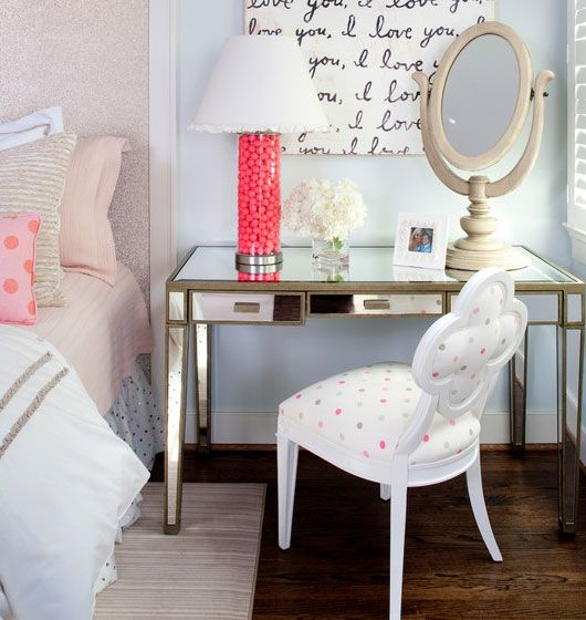 How To Never Have To Redecorate Your Teenage Girl's Bedroom Again