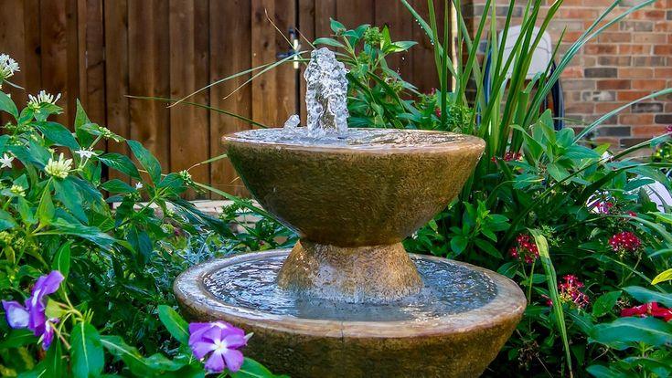 Springbrunnen Garten