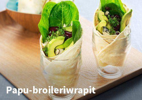 Papu-broileriwrapit, Resepti: Arla #kauppahalli24 #resepti #papu #broileri #wrapit #ruokaanetistä #verkkoruokakauppa #vappu