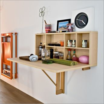best 25+ wall mounted folding table ideas on pinterest | wall