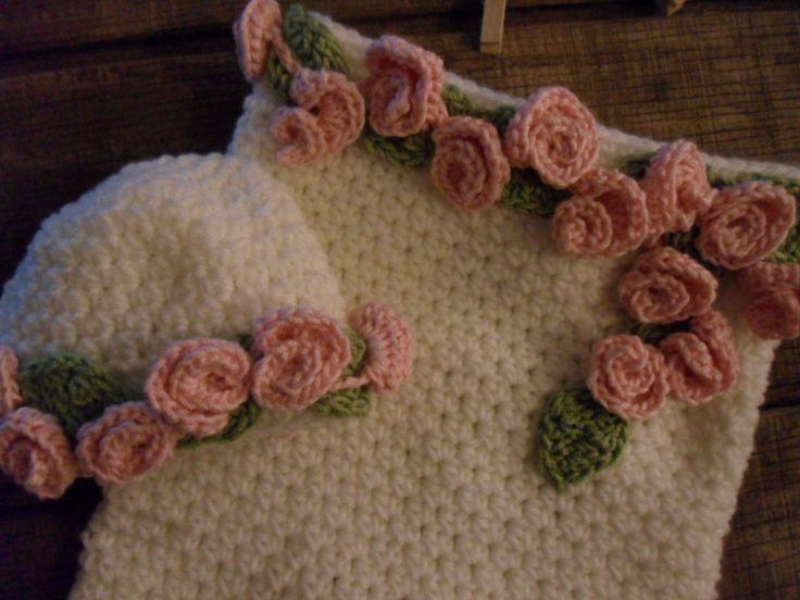 112 best Crochet - Baby images on Pinterest | Knit crochet, Crochet ...
