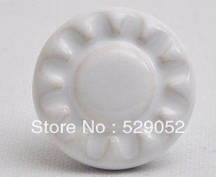 10pcs lot free shipping European contemporary and contracted painted porcelain  drawer cabinet wardrobe door knob