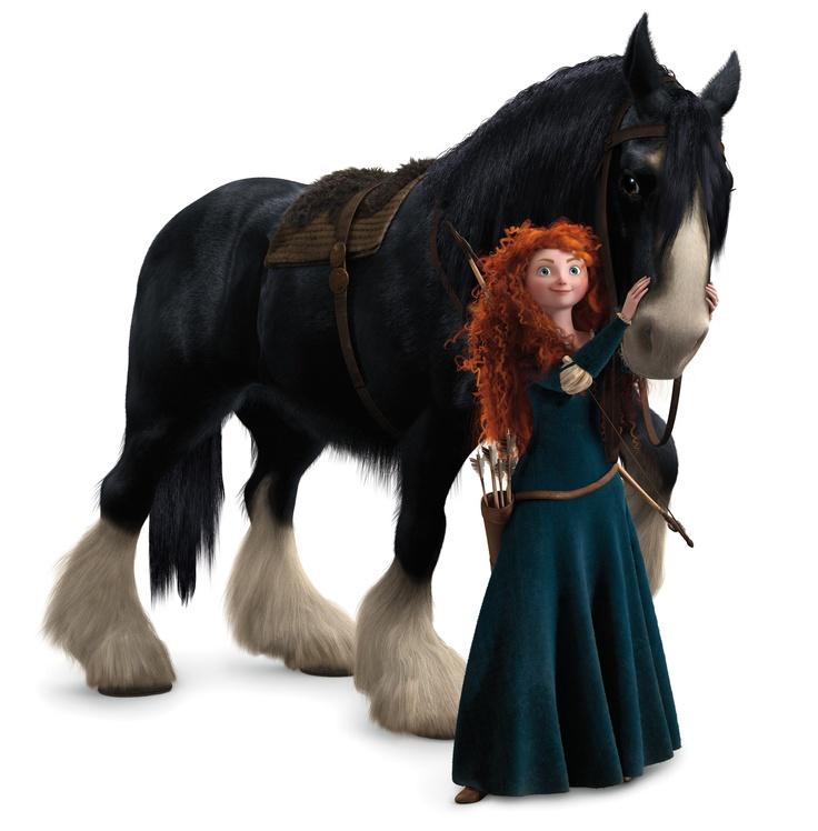 ANGUS (Rebelle) - Rebelle est actuellement au cinéma - © Disney-Pixar  #ANGUS