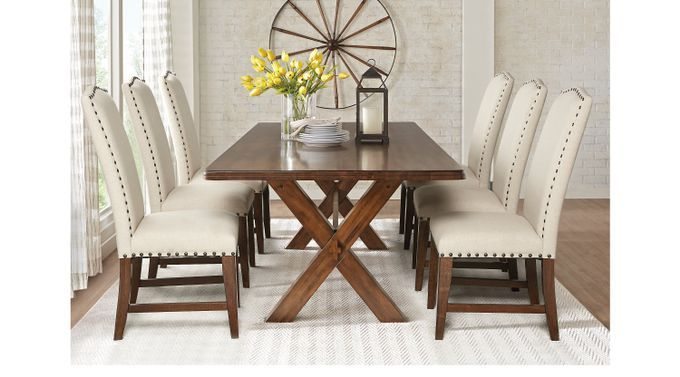 Dining Room Sets Rooms To Go Twin Lakes Brown 5 Pc 72 In