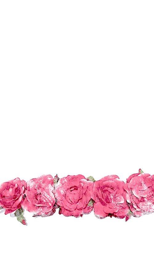 Minimal white pink watercolour roses iphone background phone wallpaper lockscreen