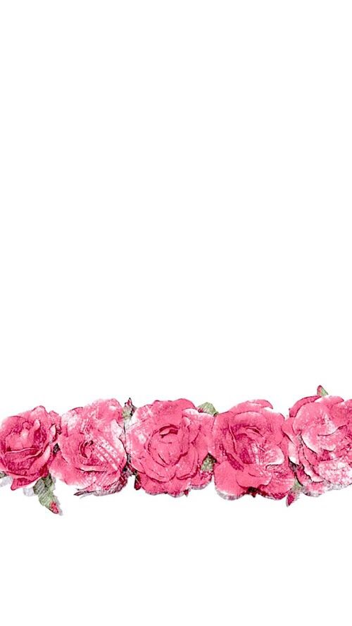 Minimal white pink watercolour roses iphone background phone wallpaper…