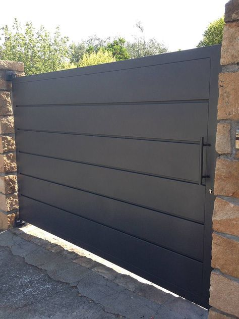 Las 25 mejores ideas sobre puertas principales de madera - Garajes de metal ...