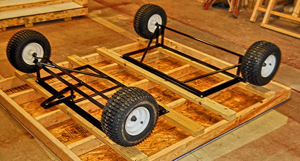 Chicken Tractor Chassis