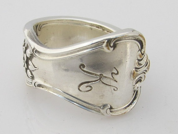 Nice Spoon Ring Size Signature with K Monogram