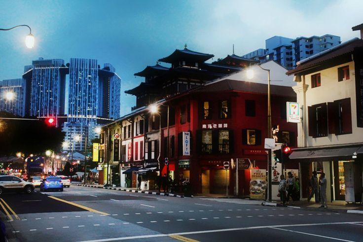 Singapore, Asia, China town