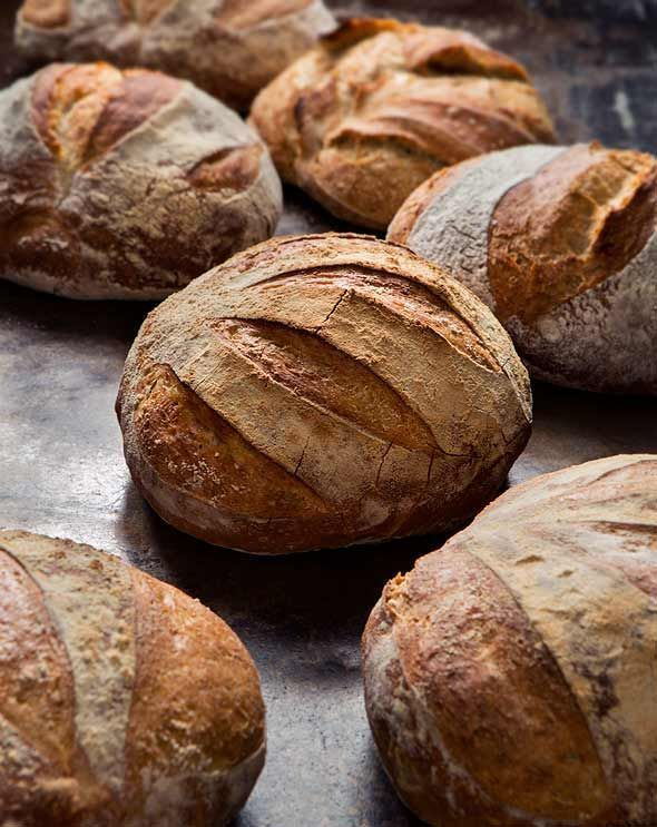 5-Minute Artisan Bread Recipe |  @ZoëFrançois (All you do for this 5-minute artisan bread is mix the dough, keep it in the fridge, take 5 minutes to shape a loaf when you're craving bread, slide it in the oven, and you're done.)