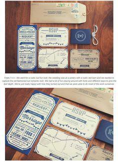 相手が驚く!もらってうれしい招待状セットのデザイン例 | Weddingcard.jp