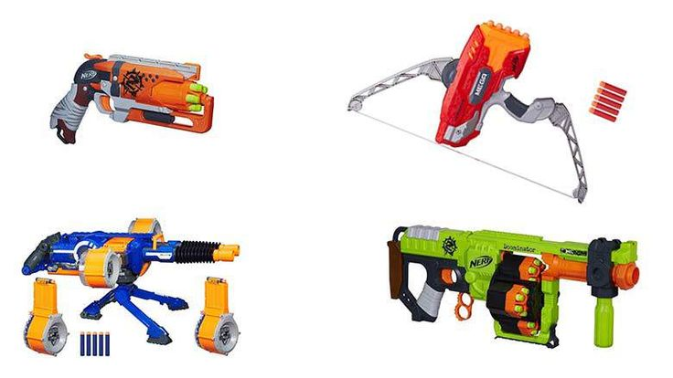 N-strikes, Megas and Elites are just a few of the types of great toy guns you'll find on this list.