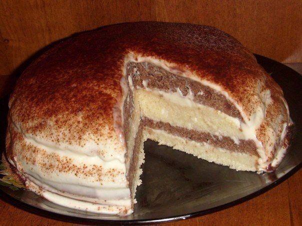 Рецепт простого и вкусного кефирного торта