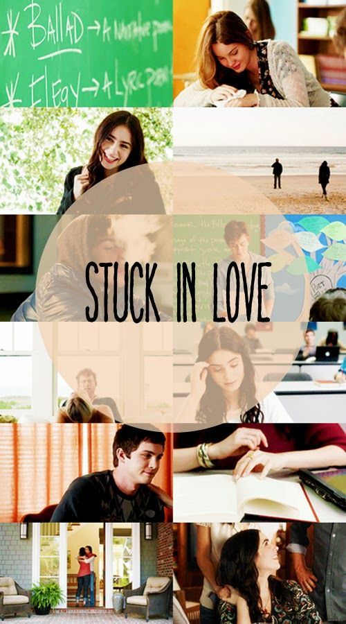Stuck in Love (On Netflix, yes it's Rated R, but such a good movie)