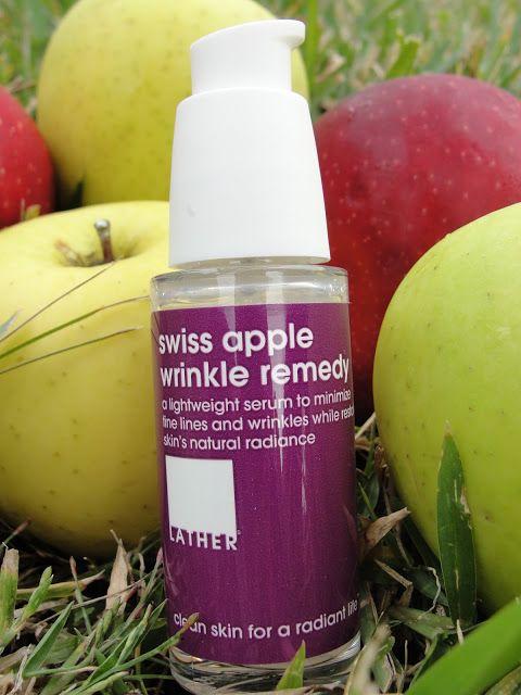 Lather Swiss Apple Wrinkle Remedy Review   Beauty4Free2U