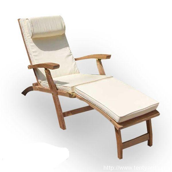 Luxury White Sun Chair Cushion With A Head Pillow , sun chair cushion, sun chair cushion with a head pillow, white sun chair cushion from http://www.tentyard.com/products/cushion/lounger-cushion