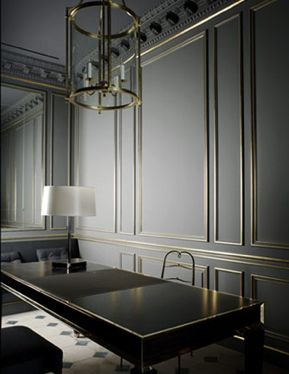 one room in my house please..The Balmain store in Paris, elegant minimalism by Joseph Dirand _