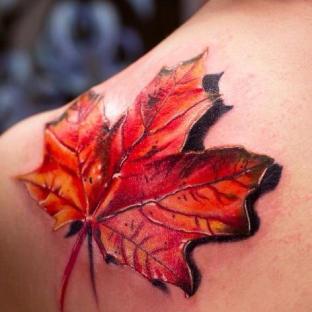 A half sleeve with leaves like this, minus the shadow. That's what I need.