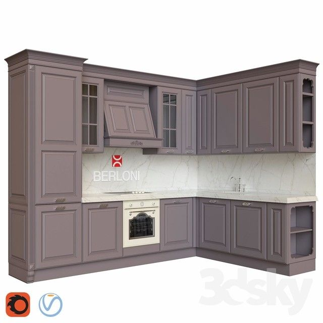 15 Usd For 140 Kitchen Designs Vol 03 3d Models Download