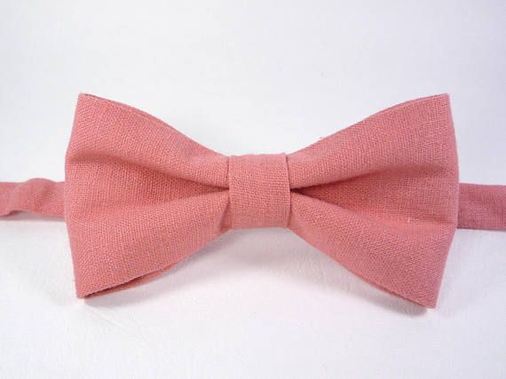 Coral Bow Tie, Pink Bow Tie, Bright Pink Bow Tie, Mens Bow Tie, Pink Bow Tie bow tie for men, baby pink bow tie, toddler pink bow tie.