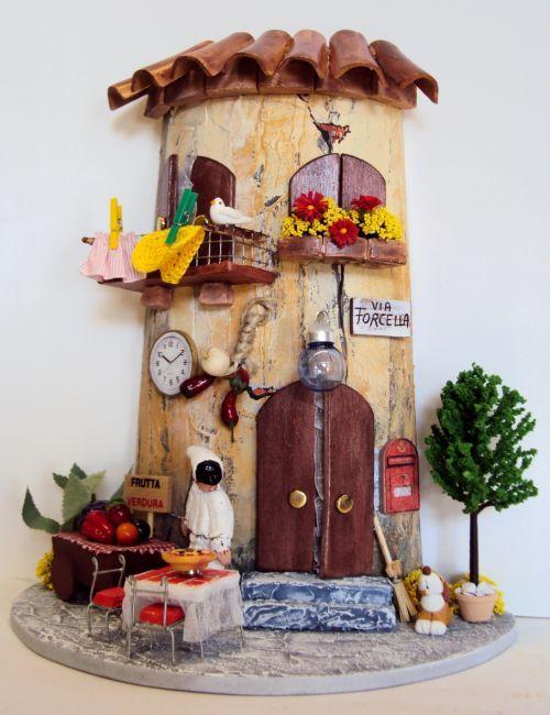 17 best images about tejas on pinterest miniature roof - Tegole decorate istruzioni ...