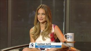 SI Model Hannah Davis Joins The RE Show In-Studio  11/11/15