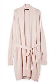 Longline Knit Robe