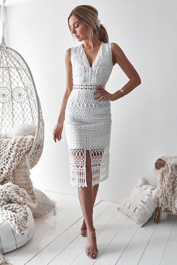 Scarlett Dress – White