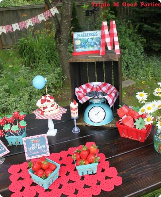 42 Best Berry Bash Theme Party Images On Pinterest