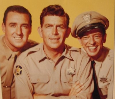 The Andy Griffith Show with Barney Fife and Gomer Pyle.....so-o-o funny!!!