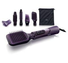 Frisuren: Lockenstab, Glätteisen, Fön – Haarpflege von Philips