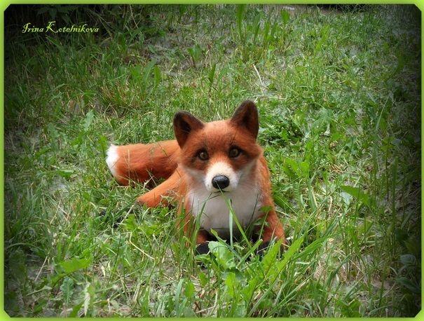 Ручная работа Рыжая лиса