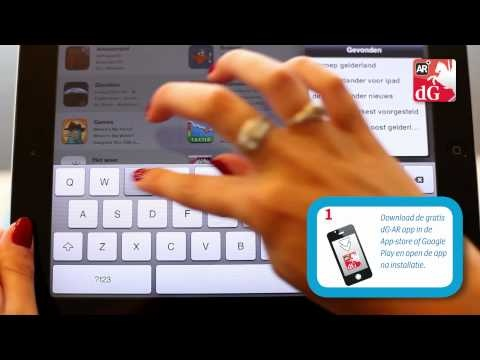 De Gelderlander | #Augmented#Reality app #tutorial voor Dutch daily #newspaper Produced by @Media4company