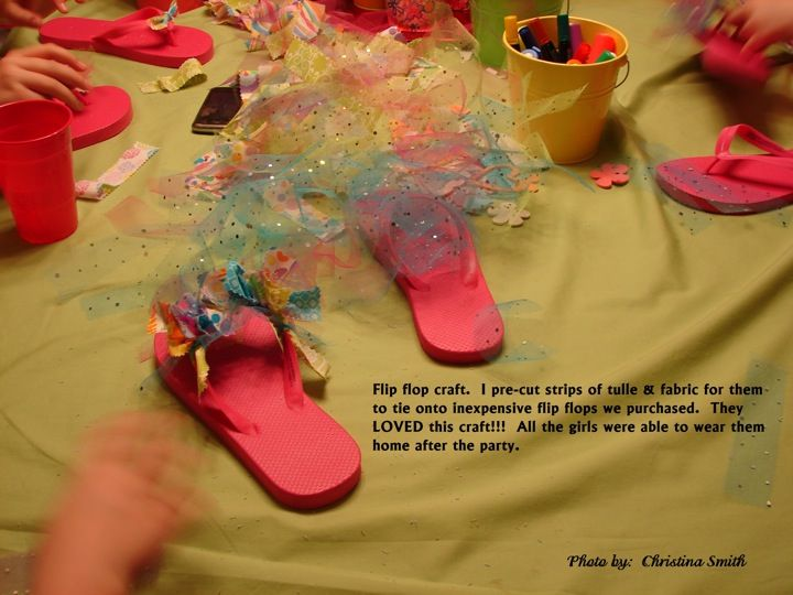 Girls Slumber Party Crafts and Ideas… on a Budget!
