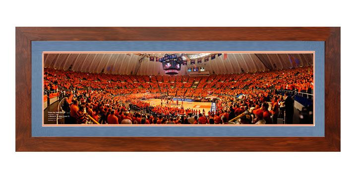 "2004 PAINT THE HALL ORANGE V.S. WAKE FOREST - 36"" PANORAMIC"